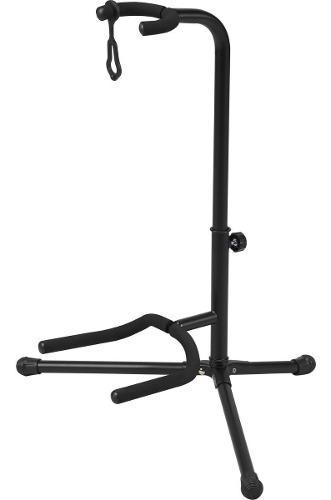 Soporte o pedestal ajustable para guitarra, bajo o ukelele