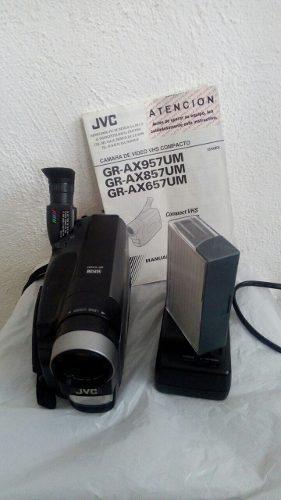 Videocamara handycam jvc compact vhsc seminueva