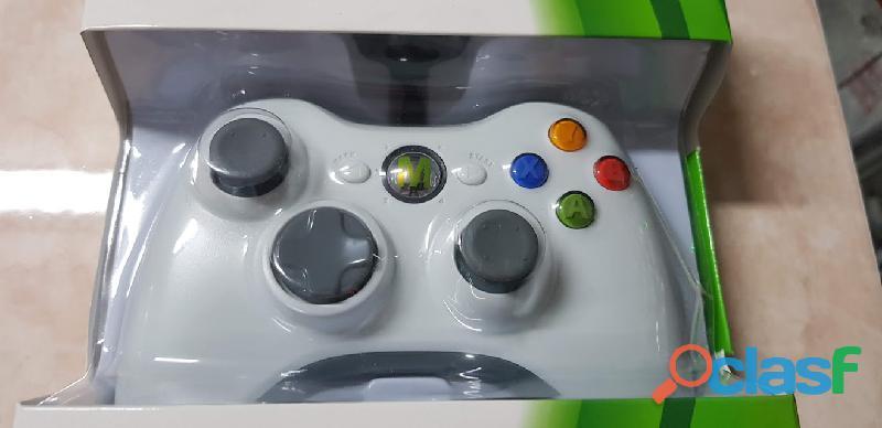 Control X box 360 Generico Alambrico Para Consola Usb Pc