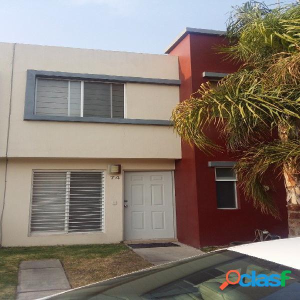 Casa renta fraccionamiento amaranto residencial