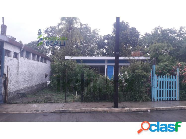 Venta terreno 1,027 m² con casa col. lázaro cárdenas poza rica veracruz, lázaro cárdenas