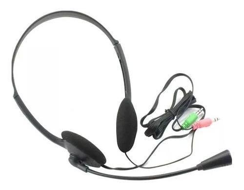Audifonos para pc con microfono diadema 3.5mm /e