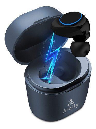 Auricular bluetooth manos libres con micrófono portátil