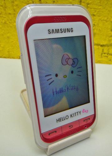 Celular samsung hello kitty (telcel) impecable