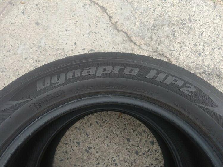 Llantas 245/55/19 hankook dynapro hp2 sin ninguna