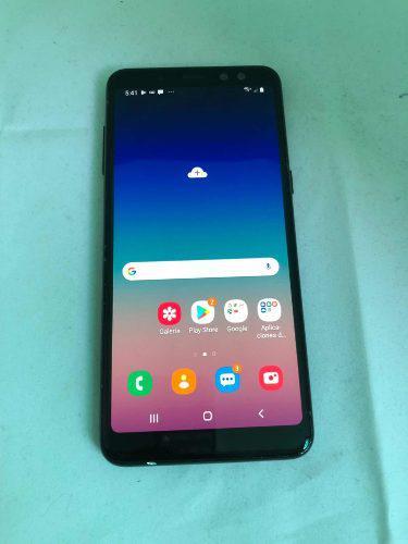 Samsung galaxy a8 2018 negro at&t sin fallas 493
