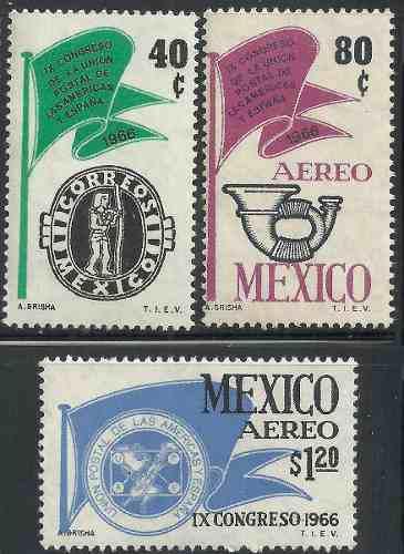 1966 unión postal d las américas y españa sc 970 c314