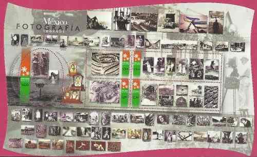 2000 fotografía sc 2194 hoja souvenir mnh méxico d siglo x