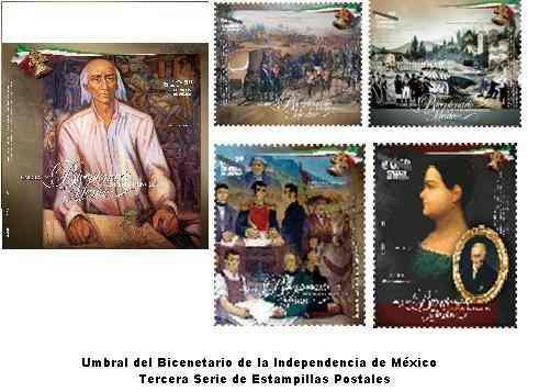 2009 bicentenario de la independencia mèxico serie/10