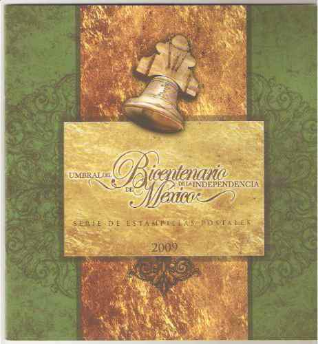2009 folleto/hojilla umbral bicentenario independencia méx.