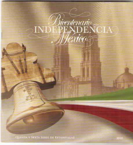 2010 bicentenario independencia de méxico folleto especial
