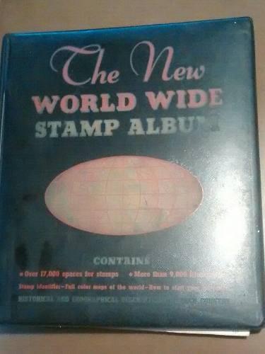 Album coleccionador timbres postales minkus new york 1970