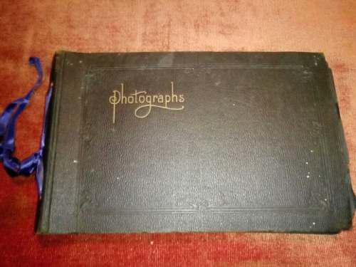 Album fotografico antiguo 1923.