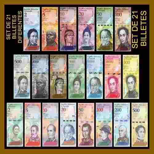 Billetes de venezuela coleccion unc nuevos maduro chavez