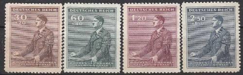 Bohemia y moravia nazi 1942: aniv 53 aniv de adolf hitler