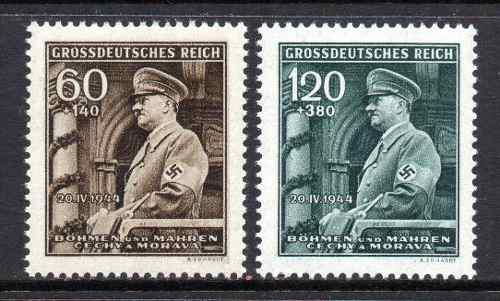 Bohemia y moravia nazi 1944: aniv 55 aniv de adolf hitler
