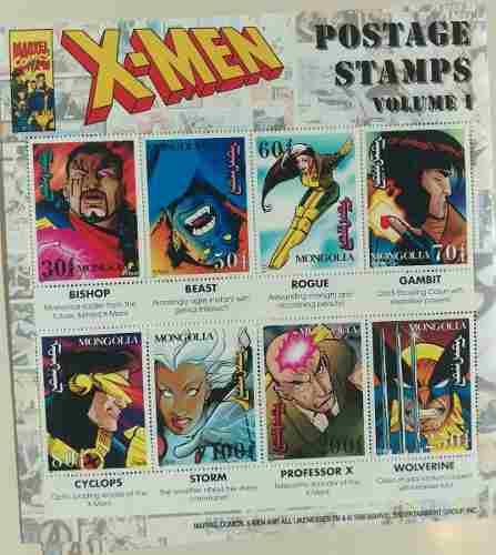 Estampillas postales marvel y dc nuevas