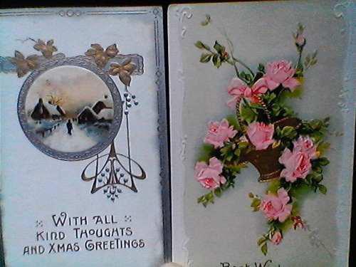 Lote de 30 tarjetas postales antiguas