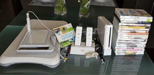 Paquete consola wii con juegos y accesorios