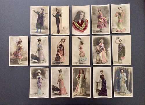 Tarjetas postales antiguas union postale universelle 16 pz