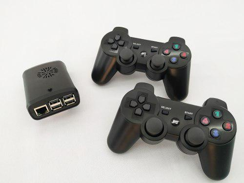Mini consola multijuegos arcade 2 controles inalambricos ps3