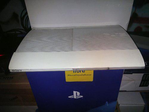 Consola ps3 slim - color blanco - 250gb - 10+ juegos