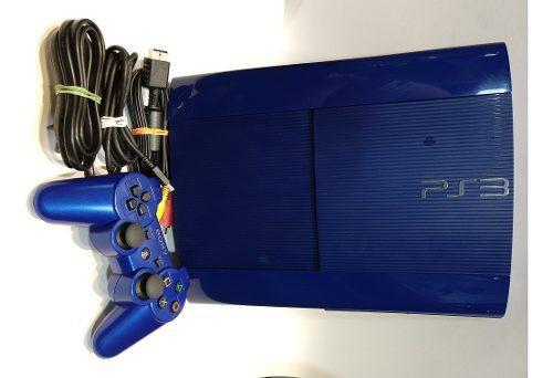 Consola ps3 super slim 250gb azul con sello de garantía!!!