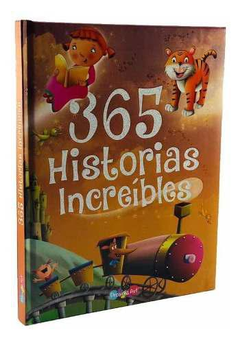 Libro historias increíbles lectura niño regalo