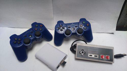Mini consola controles ps3 +regalo control nes envio gratis