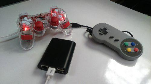 Mini consola restro 1 control ps3 + regalo 1 control snes
