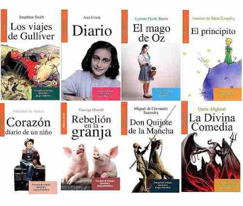 Paquete 8 libros nuevos grandes de la literatura 9 - 12