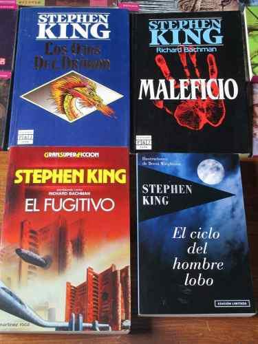 Stephen king, lote de 4 novelas