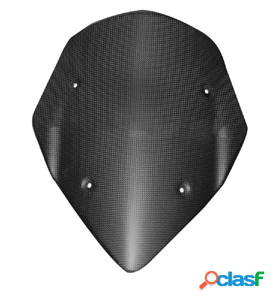Pantalla antiviento de fibra de carbono, para motos ducati multistrada 1200s, de 2011 a 2012