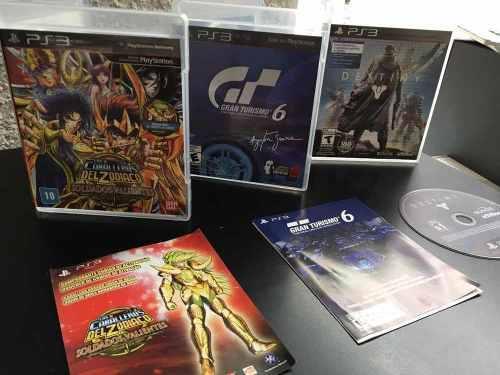 3 juegos originales play 3 perfecto estado destiny gt 6