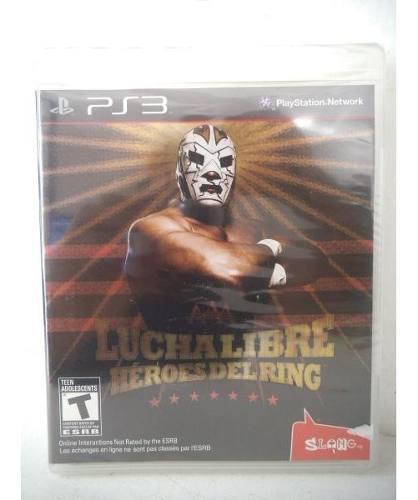 Aaa lucha libre heroes del ring playstation ps3 juego fisico