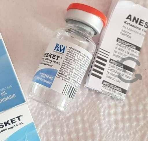 Anesket 1000mg/10ml vials