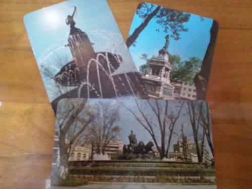 Antiguas tarjetas postales cd de méxico