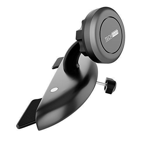 Car mount techmatte maggrip - ranura para cd magnetic soport