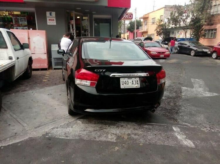 City honda 2011 negro automático en excelentes condiciones