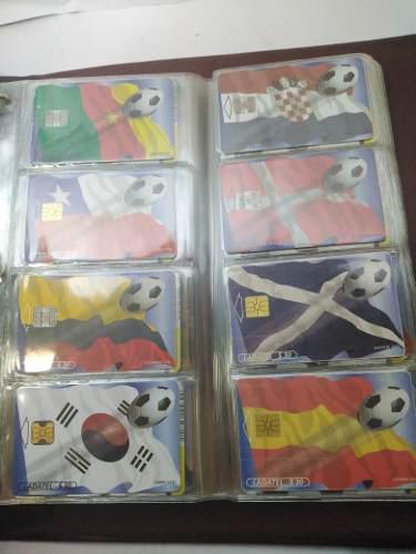 Colección completa de tarjetas ladatel más de 100 piezas