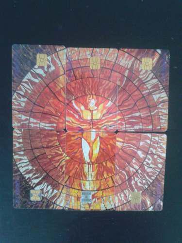 Colección completa tarjetas vision cosmogonica cosmo vitral