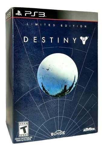 Destiny limited edition playstation 3 ps3 juego nuevo karzov