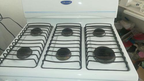 Estufa 6 quemadores horno y debajo del horno rspa