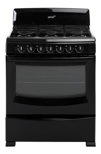 Estufa acros de piso nueva 6 quemadores, horno, electrica.