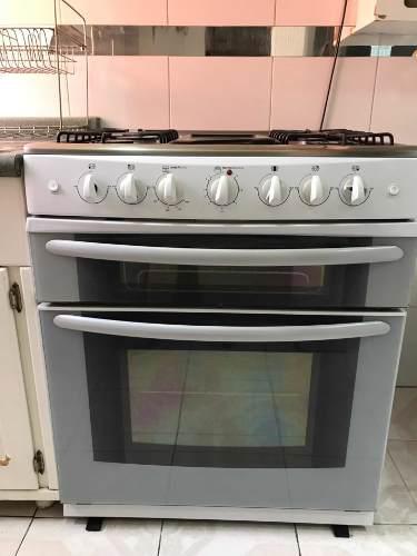 Estufa con doble horno