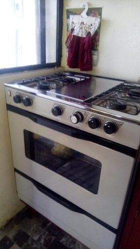 Estufa gabinete 4 quemadores horno