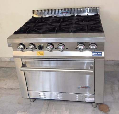 Estufa profesional con horno san son