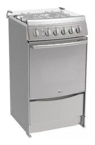 Estufa teka fs 565 4g x 4 quemadores con horno a. inoxidable