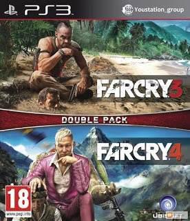 Far cry 3 + 4 juego digital ps3
