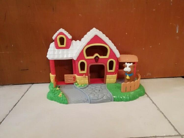 Granja tipo fisher price little people